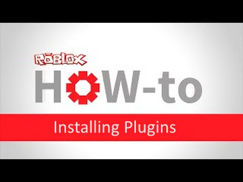 Roblox Studio 2015: How to install Plugins
