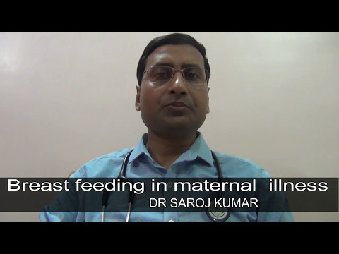 Baby care tips/Breastfeeding during maternal illness [HINDI]