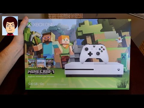 Xbox One S Minecraft Edition | Unboxing!