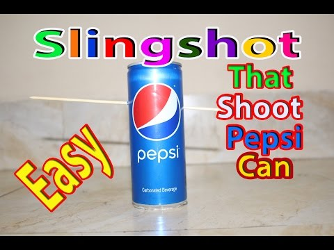 How To Make An Easy Slingshot Out Of a Water Bottle And a Balloon