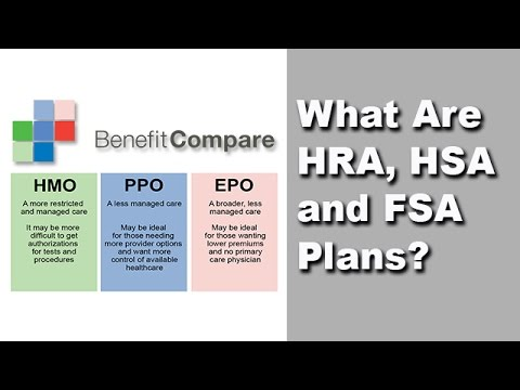 Understanding HSA, HRA, And FSA Plans NEW