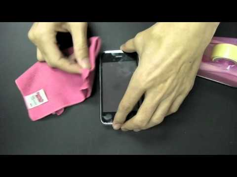 Martin Fields Overlay Plus Screen Protector - Cleaning