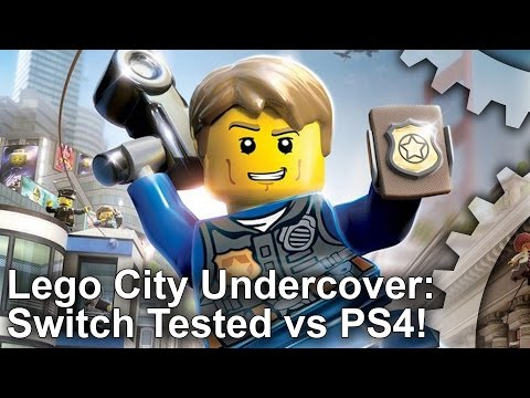 Switch vs PS4/Xbox One! Lego City Undercover Comparison!