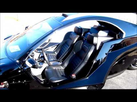 INVADER, 3 wheel reverse Trike, 4 cyl. engine, rear wheel drive