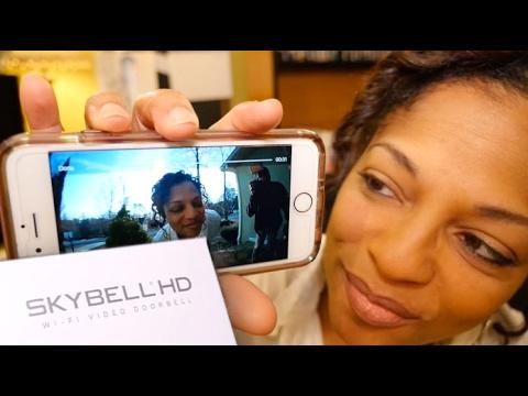 My New Video Doorbell - SkyBell HD
