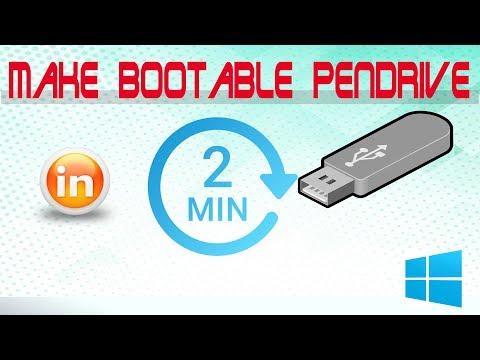 Make Bootable Pendrive & Load Windows iso in 2 min || Bytecode