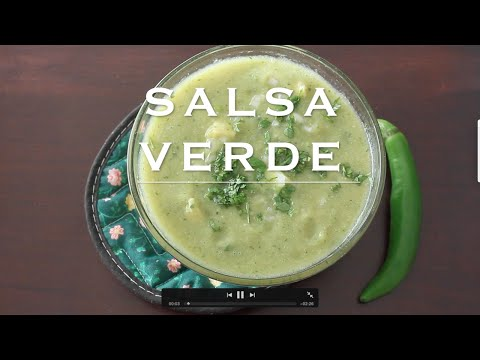 Green Salsa Recipe