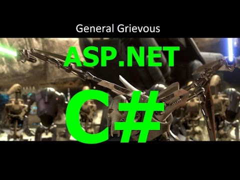 ASP.NET C# - SQL Server - Display Data From a DB on a web page Part 1 of 2