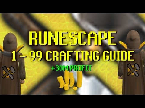 Runescape 1 - 99 Crafting Guide (The Cheapest F2P) +30M PROFIT | By Jeroenn