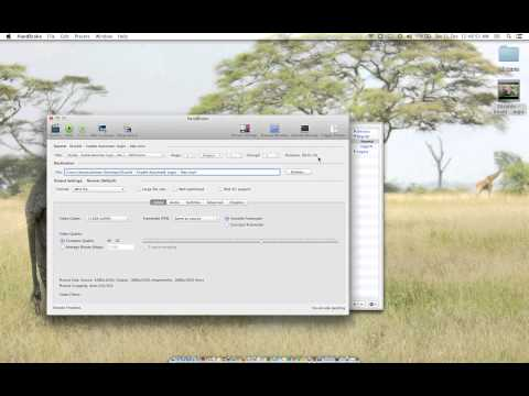 Reduce Size of Video files by over 80 percent on a Mac