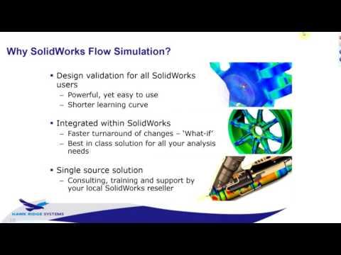 SOLIDWORKS Simulation - Flow Simulation Applications