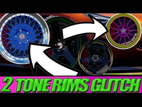 2 TONE RIMS PAINT GLITCH | Forza Horizon 3