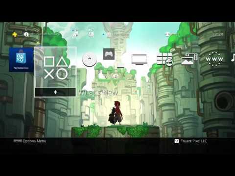 Hob - World Raise PS4 Dynamic Theme (PC/PS4)
