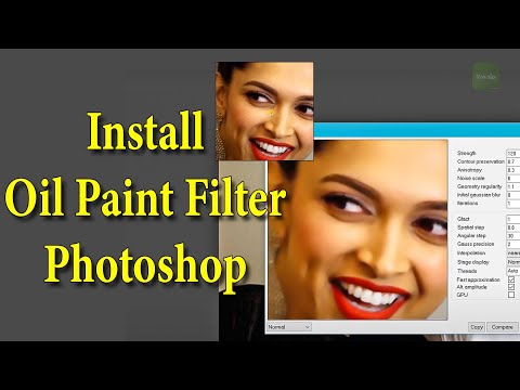 How To Install Oil Paint Filter in Adobe Photoshop CS6/CC