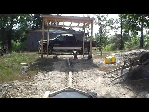 Building a smokehouse 5