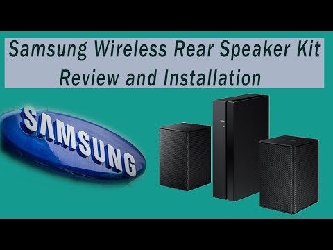 Samsung Wireless 8500s Rear Speaker Review and Installation (Quick and Easy)