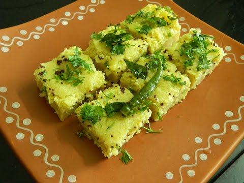 Instant Khaman Dhokla In Microwave / Dhokla Recipe In Microwave / Khaman Dhokla -By Food Connection