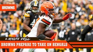 Browns prepare to take on Bengals | 2 Minute Drill