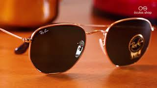 Ray Ban Hexagonal RB3548 - Unboxing