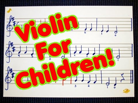 👫 Violin For Beginners | Learning How To Play Twinkle Twinkle Little Star On The Violin! 👫