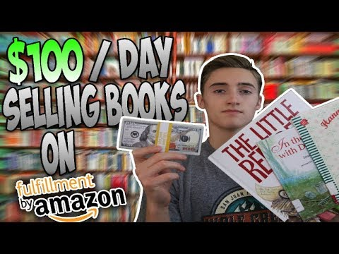 How To Make $100 A Day Selling Books On Amazon FBA | STEP-BY-STEP Beginners Guide