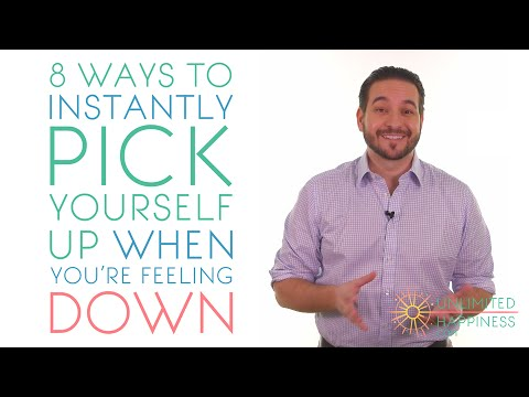 8 ways to instantly pick yourself up (when you are feeling down)