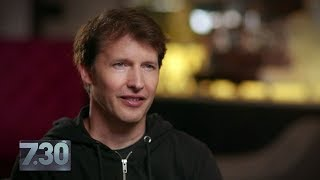 James Blunt on mean tweets, online rumours and his music