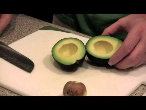 How to Slice Avocados For Sushi