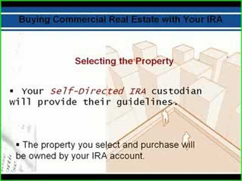 How to use your IRA to invest in real estate