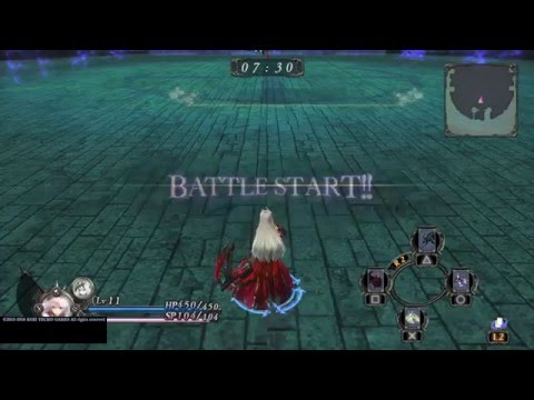 Nights of Azure - Arena Abyss: Easy 3 star, Nightmare form, Mallu tanking (よるのないくに)
