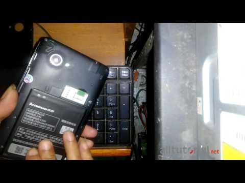 Cara FLash Lenovo A889
