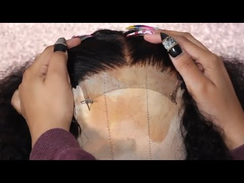 How To Properly Pluck A Closure | SuperNova Aliexpress Hair