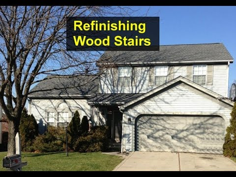 How I refinished a stairwell that were built with construction grade pine. - VOTD