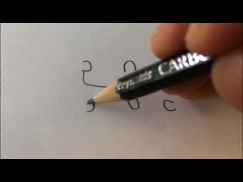 HOW TO DRAW THE LETTER ''S'' IN A SPECIAL FONT!!!