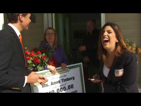 $10,000.00 PCH Winner - Anne Tinberg