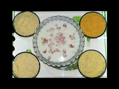 Siruthaniya Kanji / Millet Porridge in Tamil / சிறுதானிய கஞ்சி