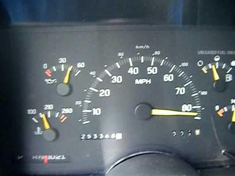 1992 Chevrolet Silverado 1500 acceleration