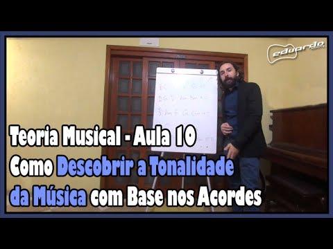 Curso de Teoria Musical - Aula 10: Como Descobrir a Tonalidade da Música l Aula# 83