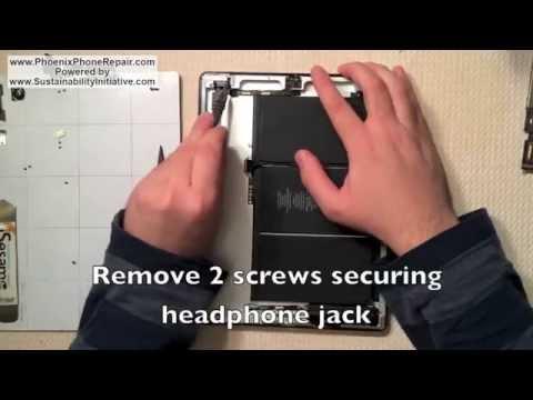 How to Repair Apple iPad 2 Headphone Jack & Camera / iPad Camera Replacement Repair