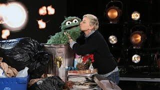 Ellen Teaches Oscar the Grouch About Kindness