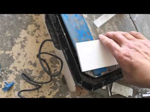 How to cut glass tile without chipping(2)