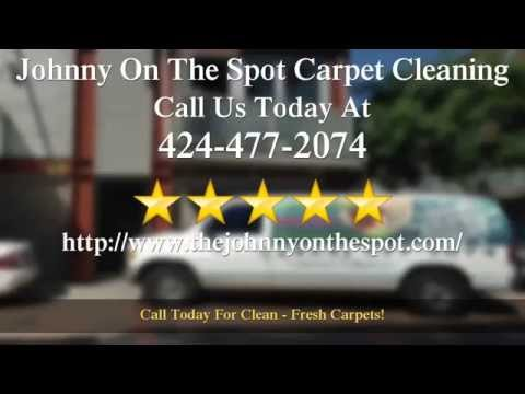 Johnny On The Spot Carpet Cleaning San Pedro  Outstanding  5 Star Review by C...