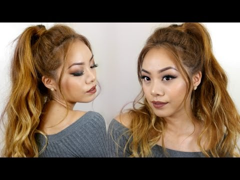Messy Ponytail Tutorial