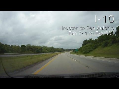 I-10: Houston to San Antonio
