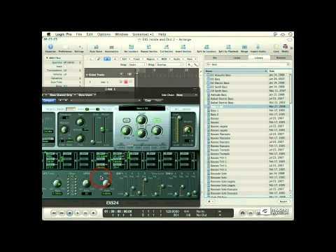 Logic 102: Exploring The EXS24 - 03. Loading Sampler Instruments