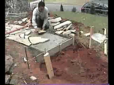 Construction of my Stone Sidewalk (part 2)