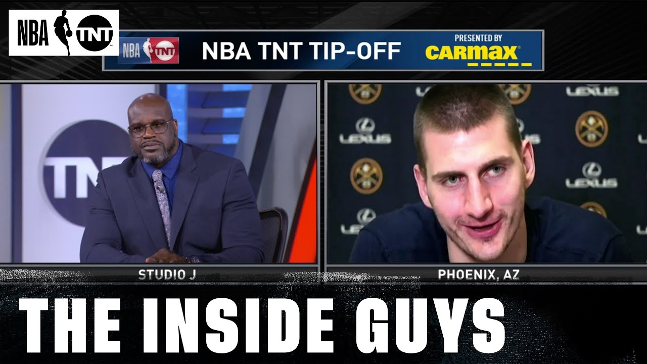 Nikola Jokic Joins The Inside Crew After Being Named The Kia MVP   NBA on TNT