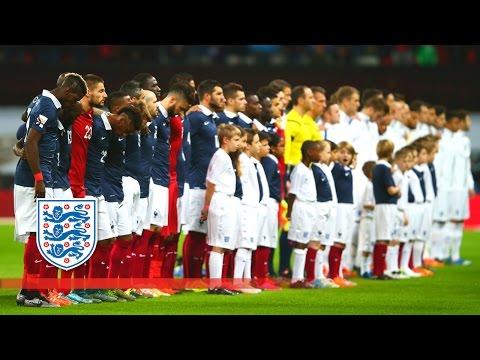 England & France sing La Marseillaise at Wembley Stadium | Snapshots