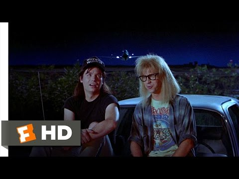 Wayne's World (10/10) Movie CLIP - You Kiss Your Mother With That Mouth? (1992) HD
