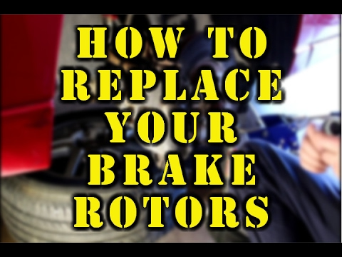 How to Replace Brake Rotors | 2002 Ford Focus